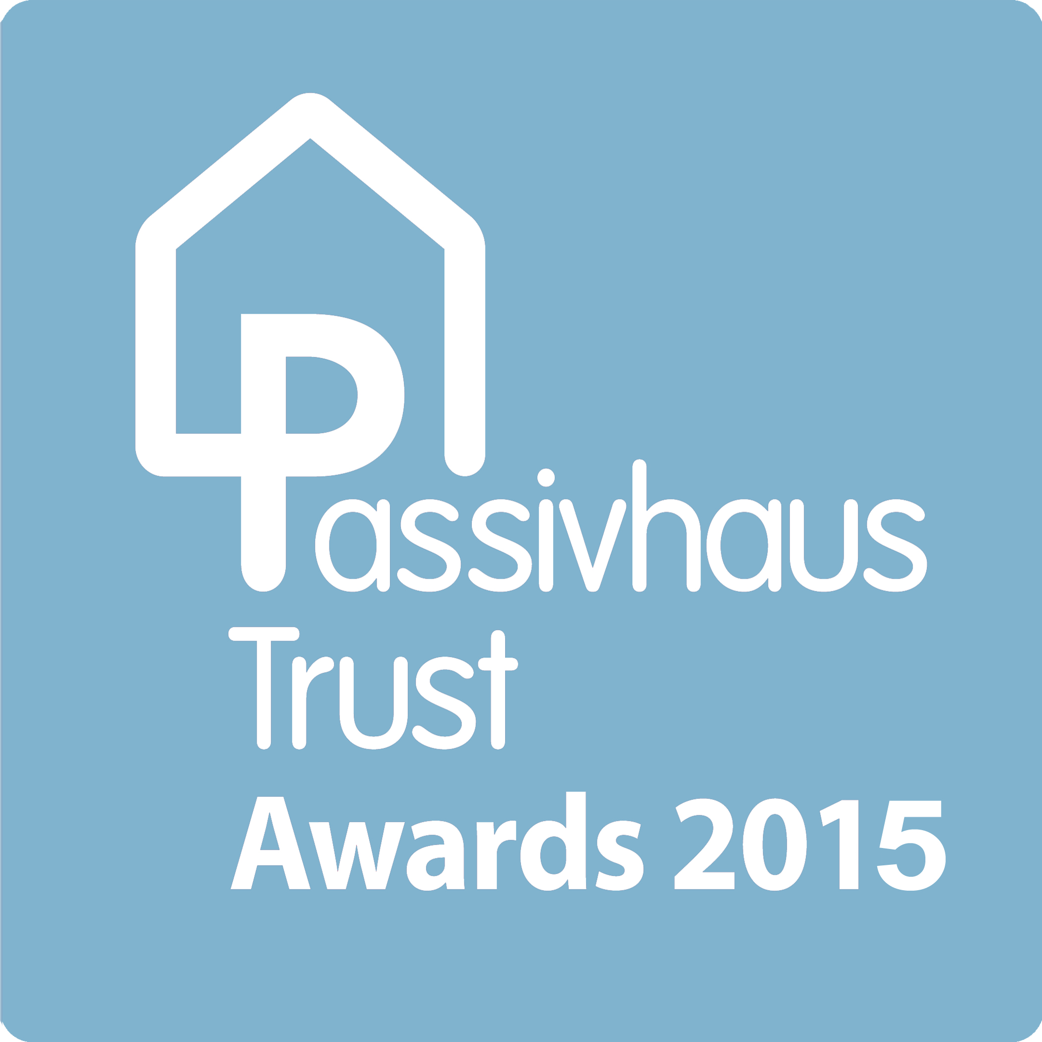 2015 UK Passivhaus Awards logo