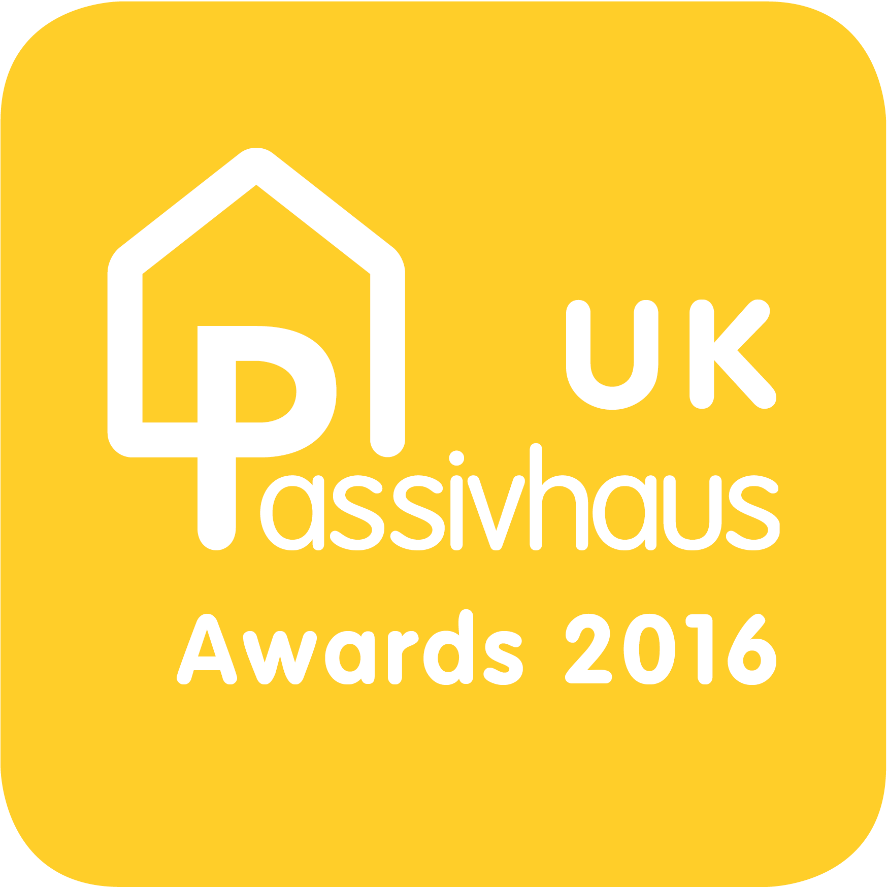 2016 UK Passivhaus Awards logo