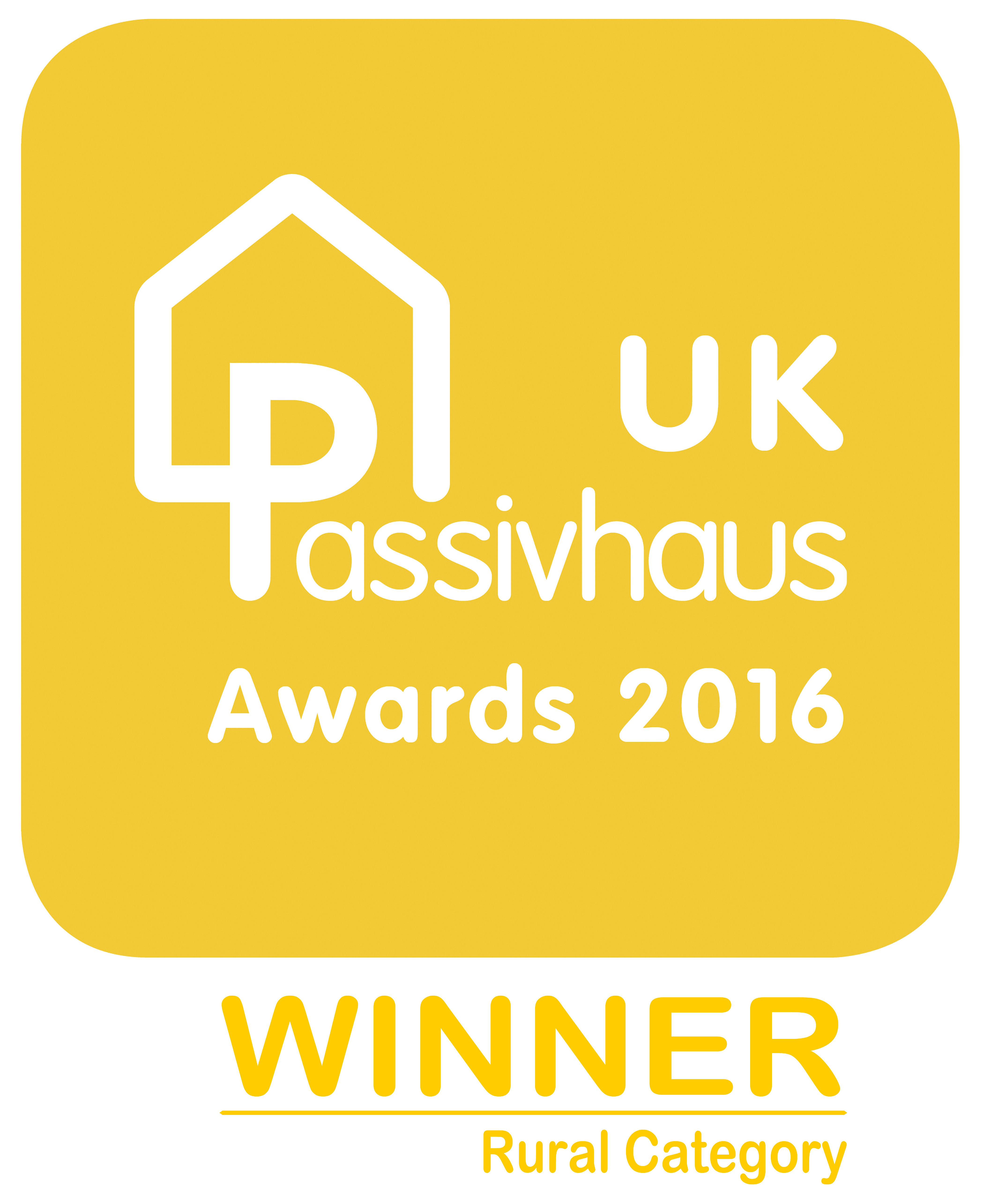 UK Passivhaus Awards 2016 - Rural Finalist logo