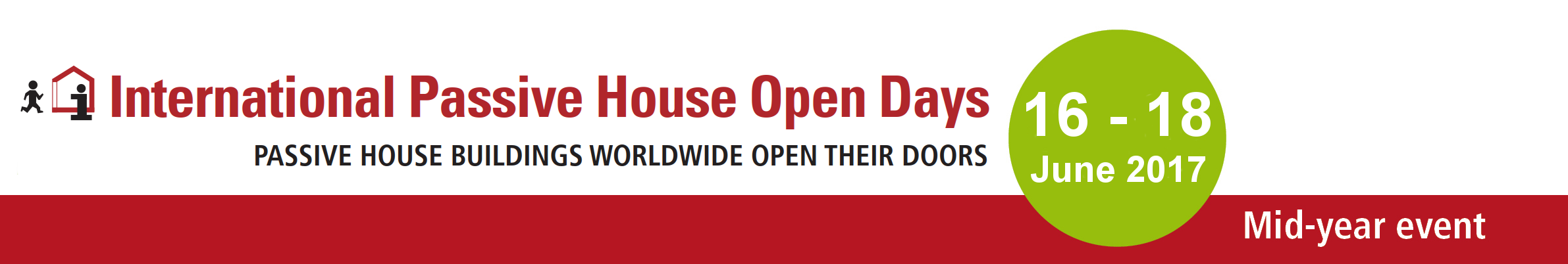 International Mid year Passivhaus Open Days 2017
