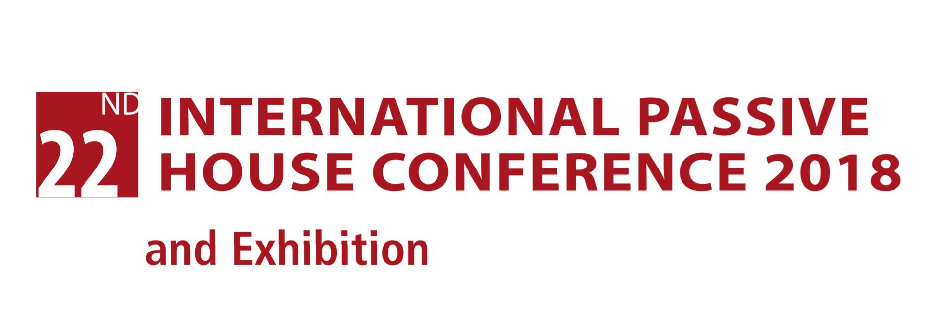 International Passivhaus Conference 2018