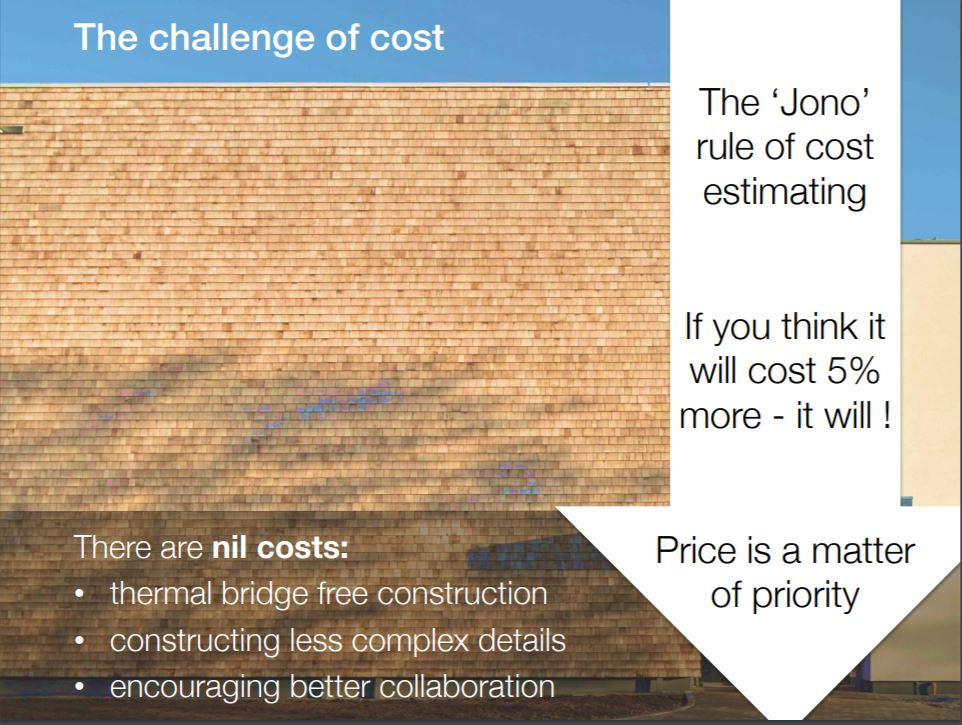 Jonathan Hines, Architype, challenge of costs
