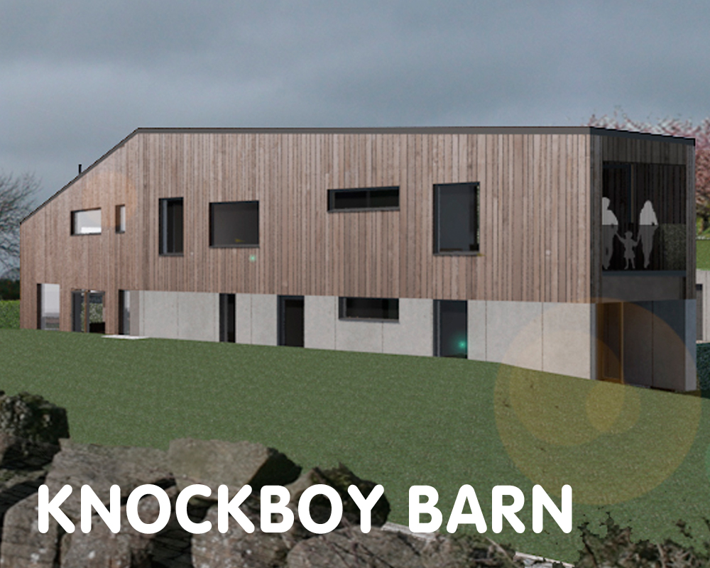 Knockboy Barn, aiming for certification, Ballymena, BT43 7JD