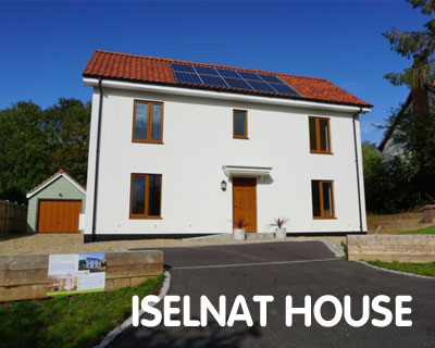 Iselnat House, Certified Passivhaus, Chediston, Halesworth, Suffolk IP19 0AZ