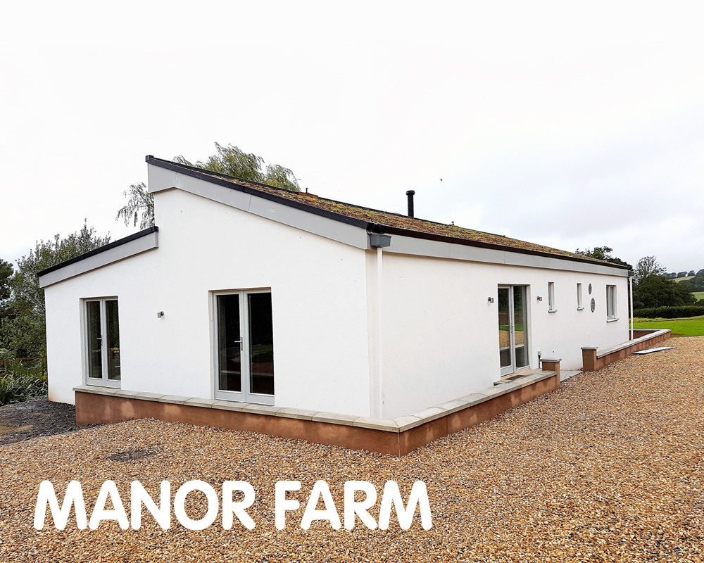 Manor Farm, Certified Passivhaus, Devon, EX14