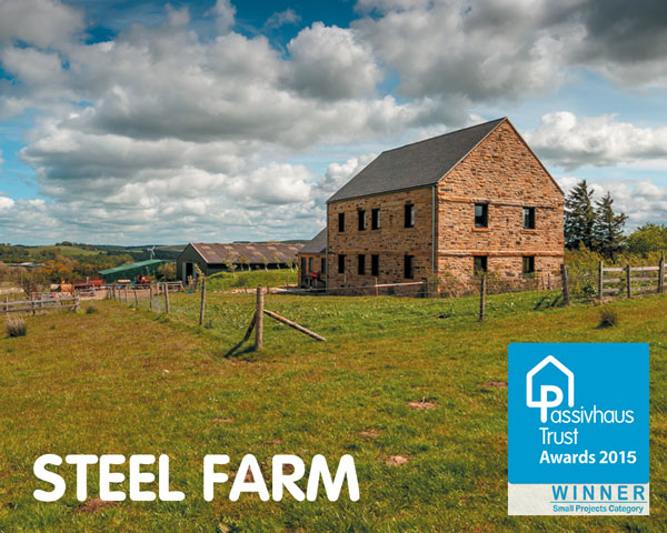 Steel Farm, Certified Passivhaus, Whitfield, NE47