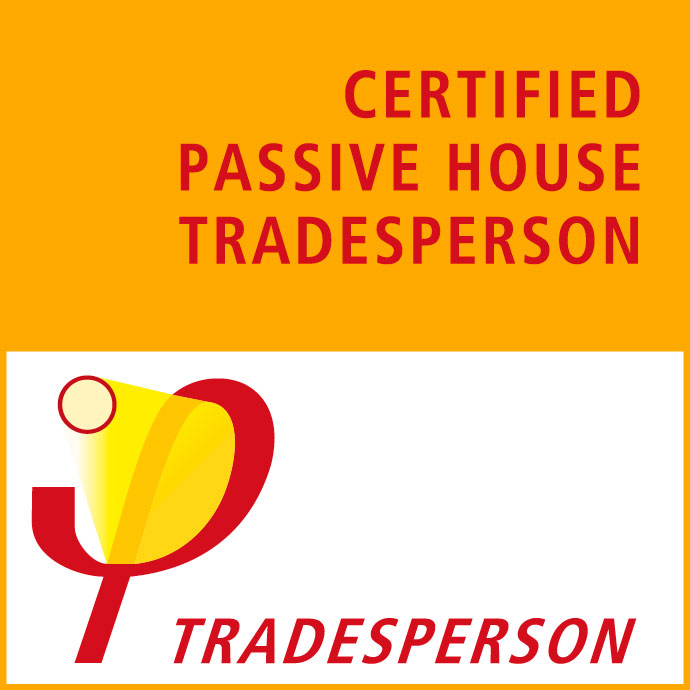 Certified Passive House Tradesperson badge