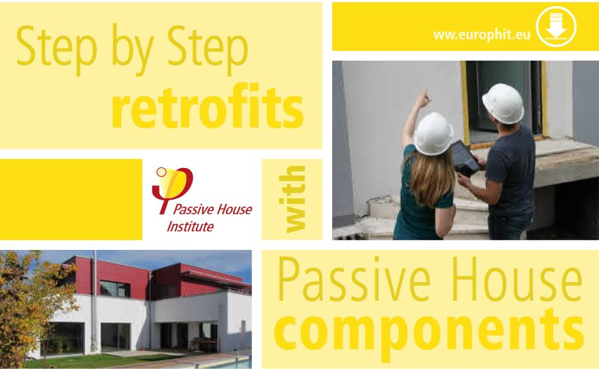Step by step retrofit with certified Passivhaus components