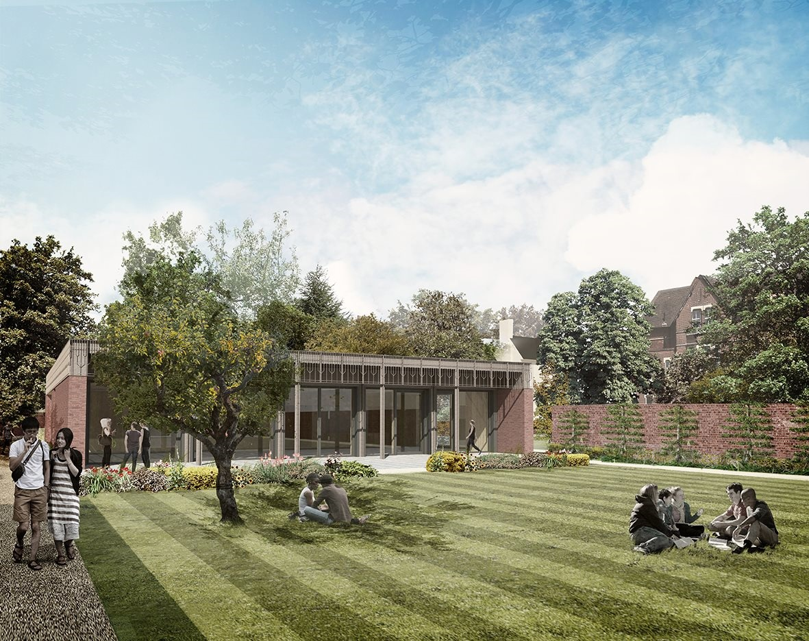 Kellogg College Hub, University of Oxford, designed by FCBS
