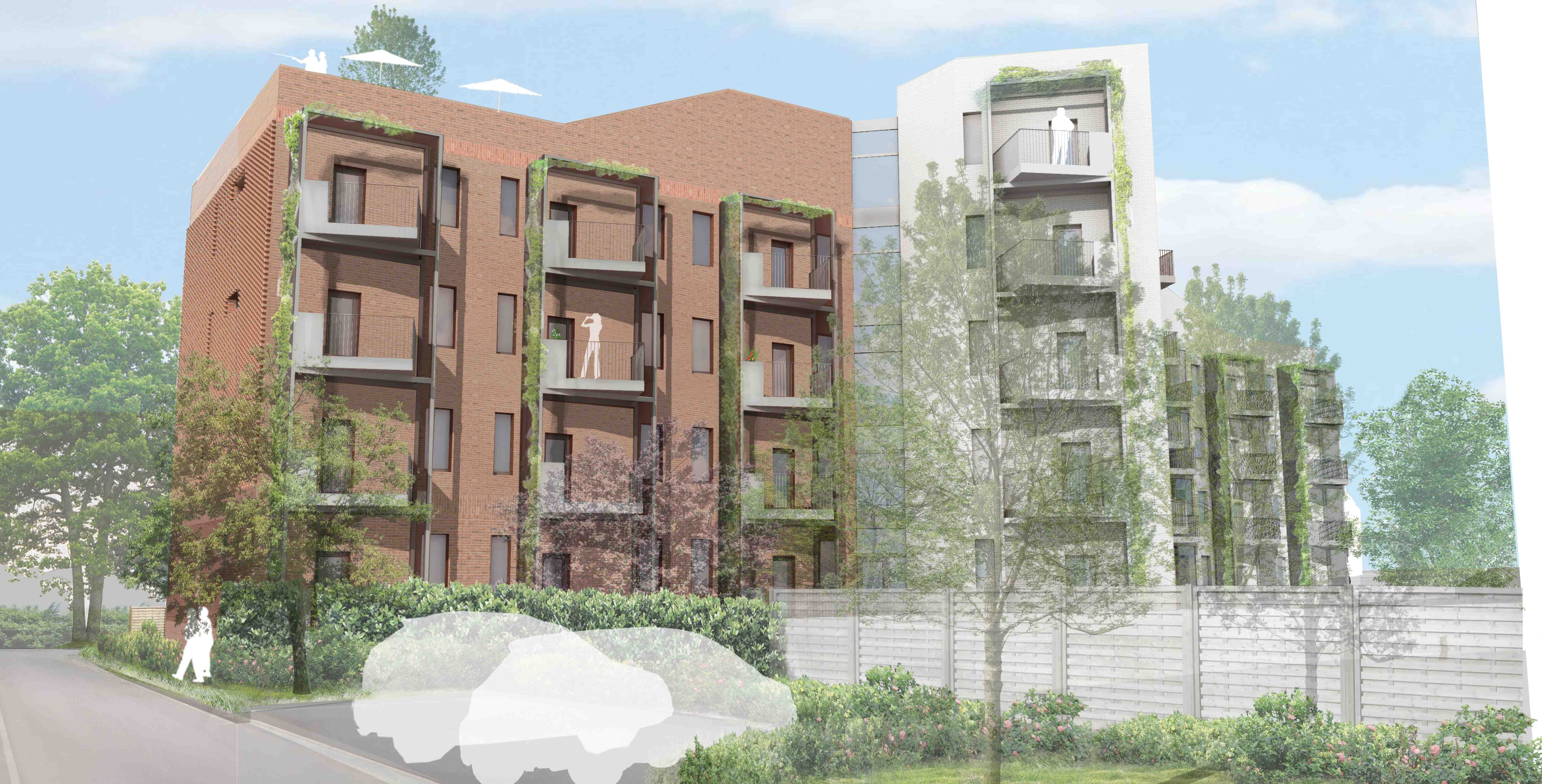 St Loyes Extra Care Housing, Exeter. Architype