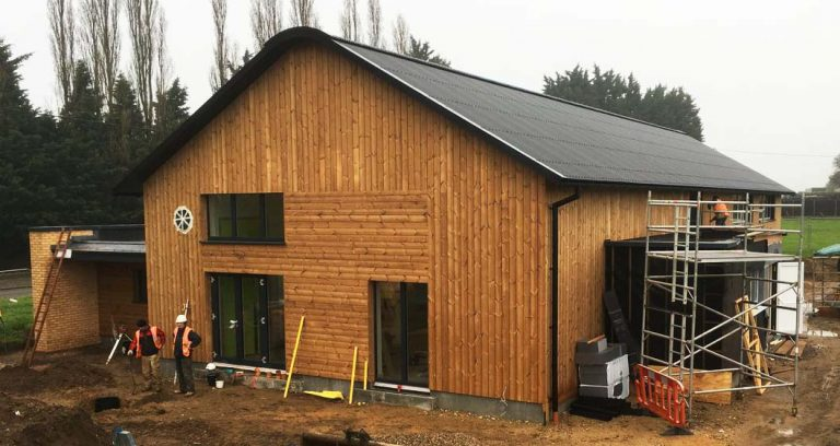Wereham Village Hall nearing completion