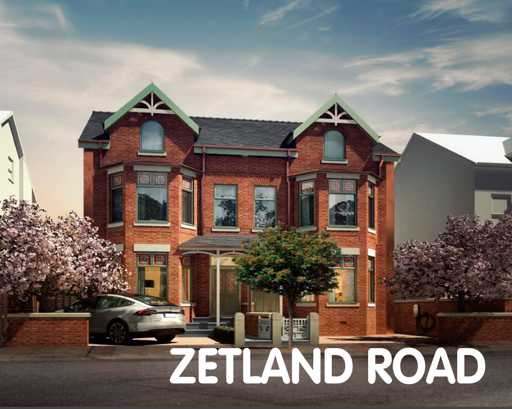 Zetland Road, Chorlton Manchester. Aiming for EnerPHit Plus