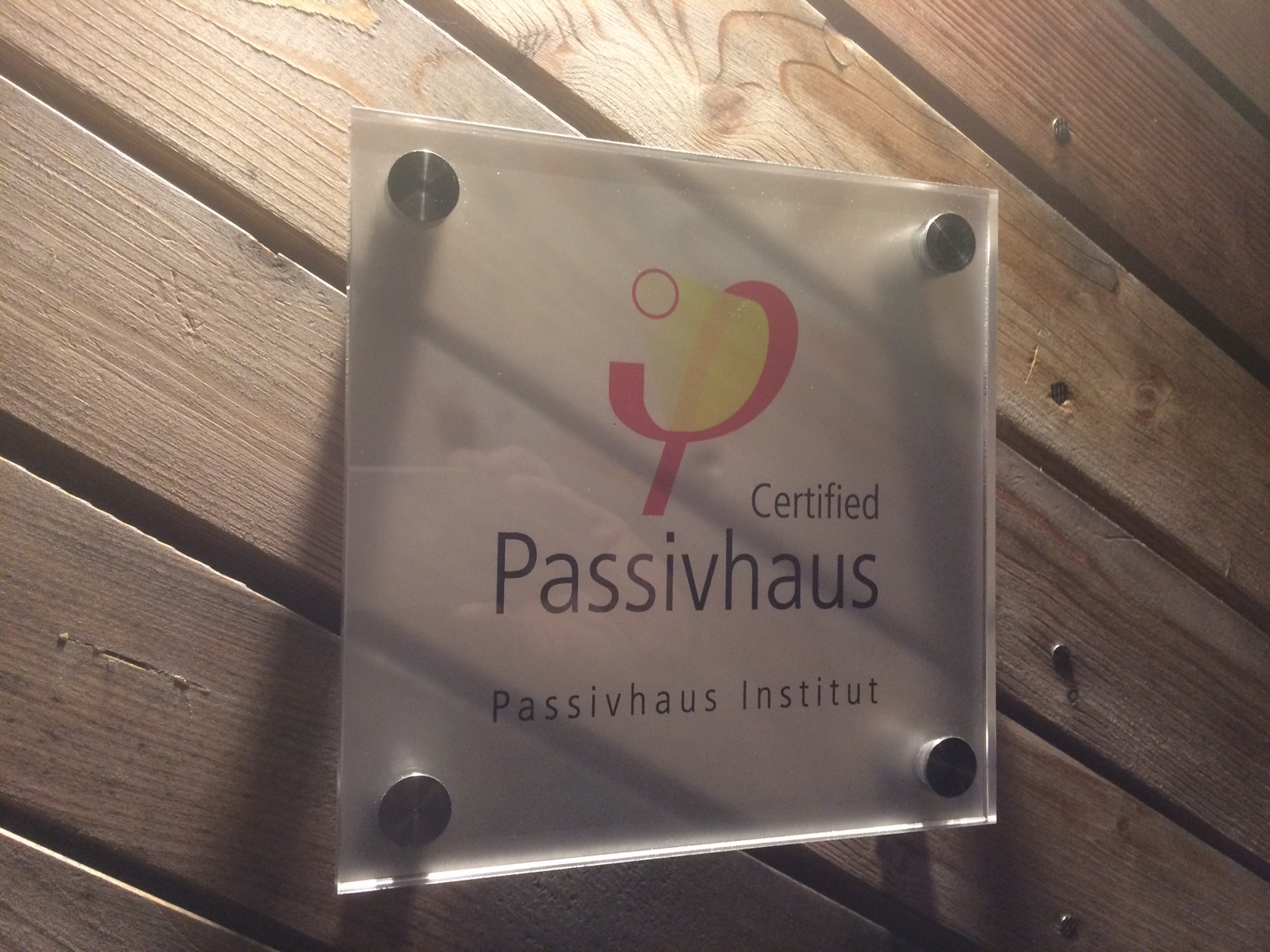Ostro Passivhaus is now certfied
