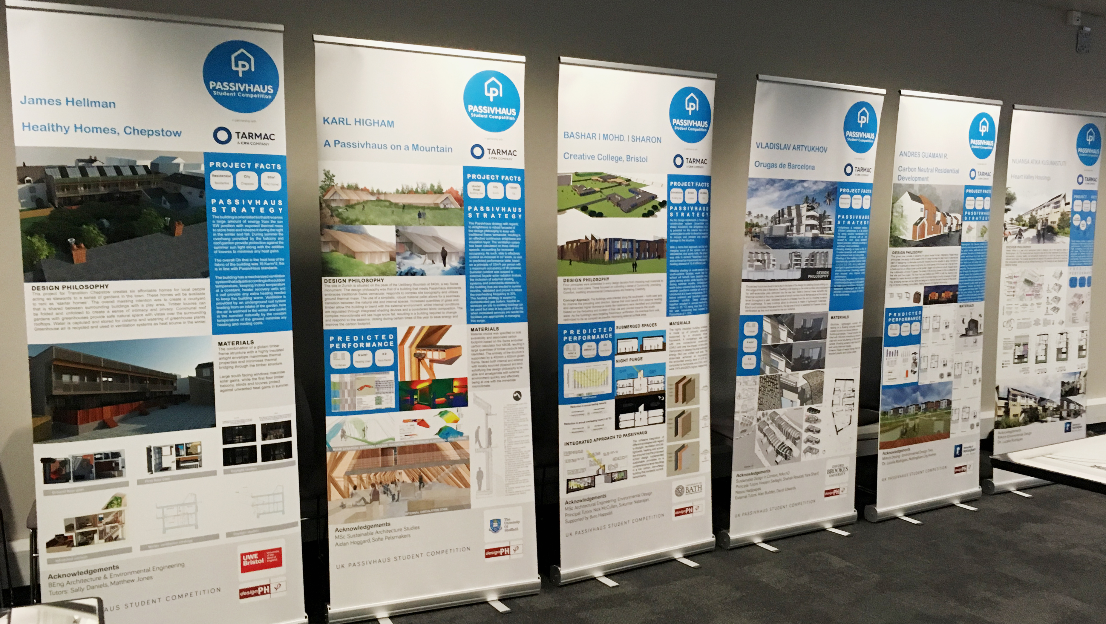 Passivhaus Student Competition Winners Banners