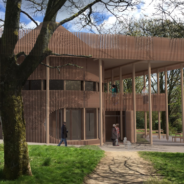 Sustainability Centre EnerPHit wins planning