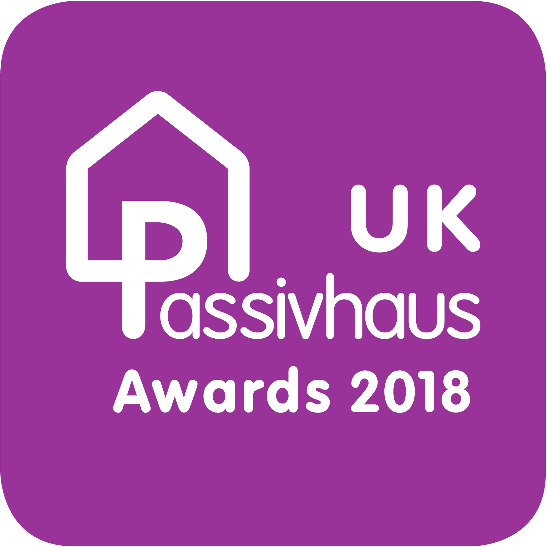 UK Passivhaus Awards 2018 logo