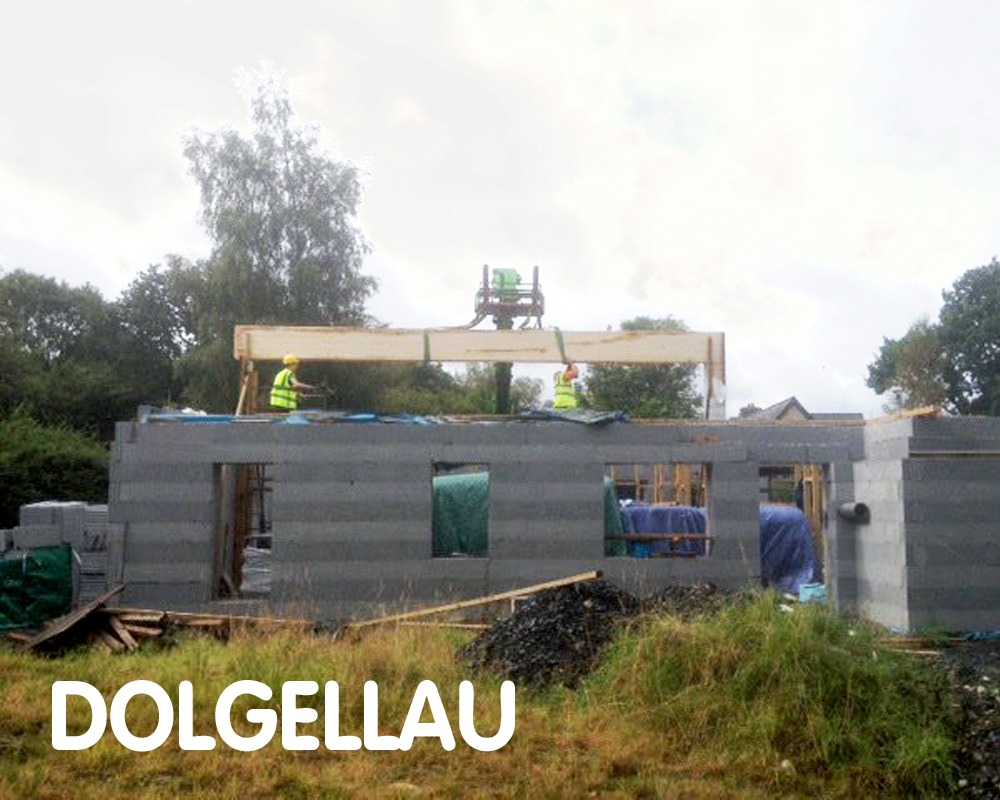 Dolgellau Passivhaus, aiming for certification, LL40 2SD