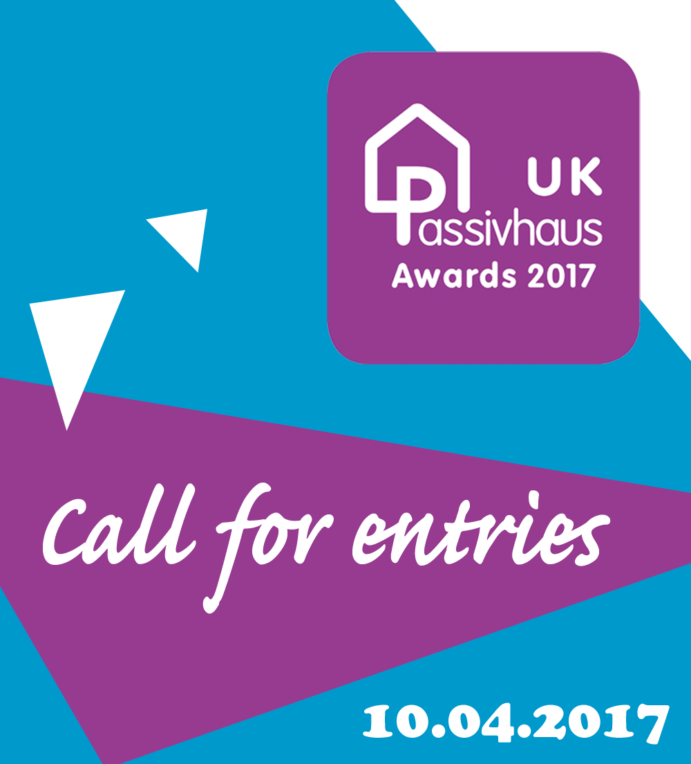 UK Passivhaus Awards 2017 Call for entries