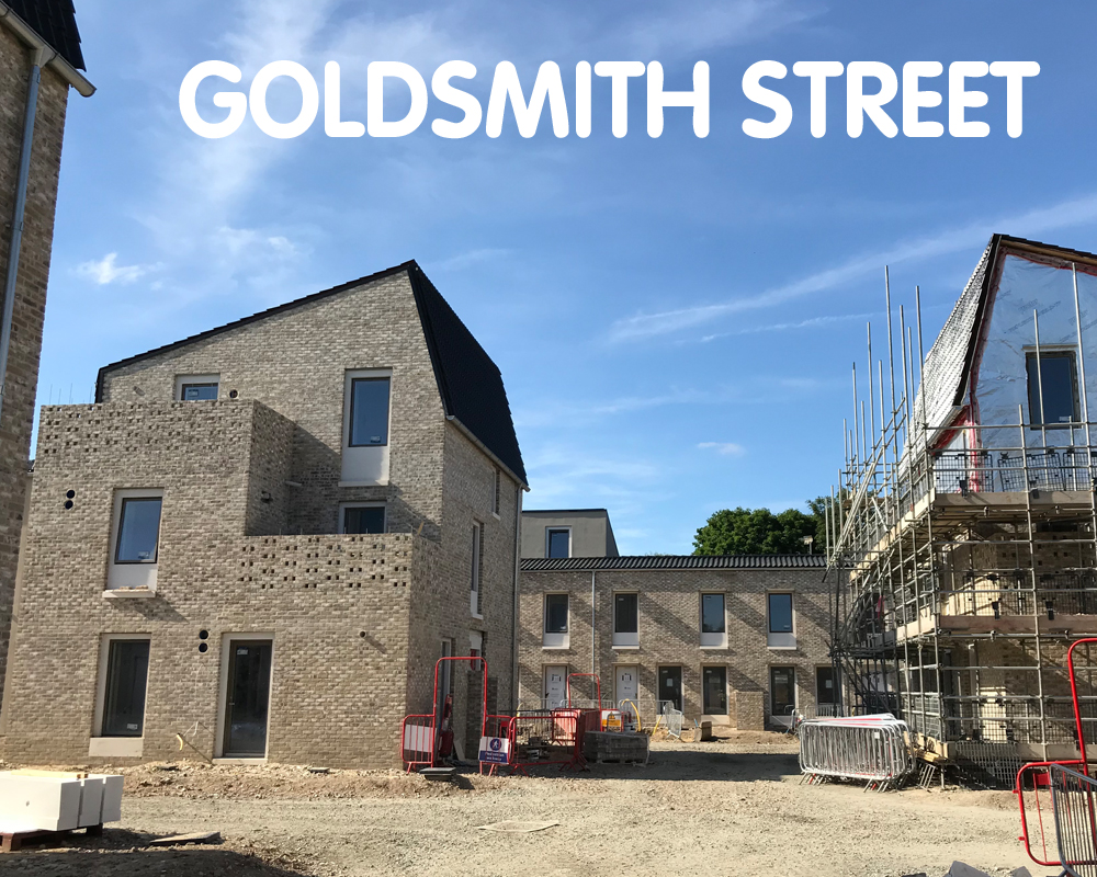Goldsmith Street, aiming for certification. Norwich, NR2 4QF
