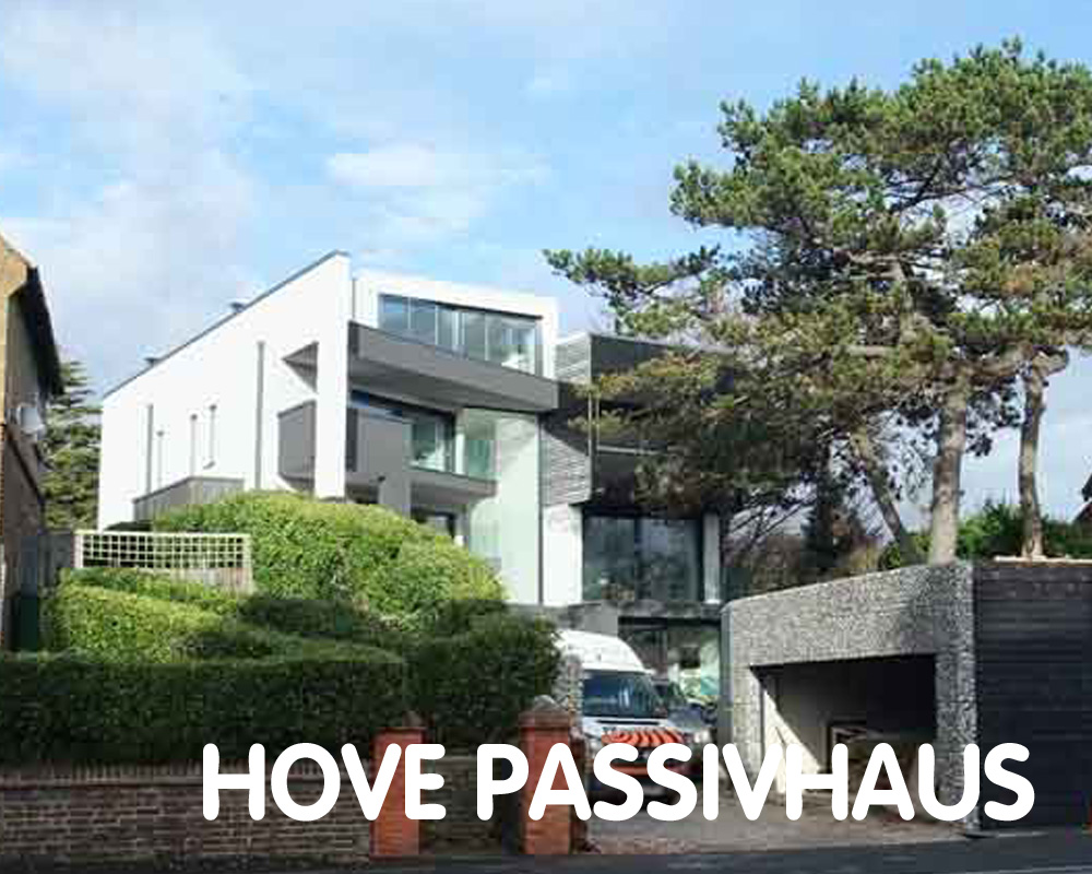Hove Passivhaus, aiming for certification. Brighton & Hove BN3 6NR