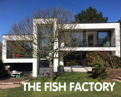 The Fish Factory, certified Passivhaus, Hereford, HR1