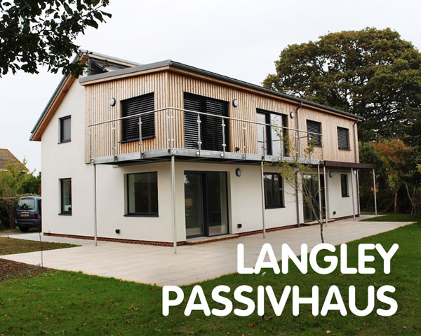 Langley Passivhaus, aiming for certification, Langley, near Fawley, Southampton