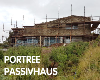 Portree Passivhaus, aiming for certification, Isle of Skye, IV51