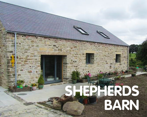 Shepherds Barn, aiming for EnerPHit, County Durham