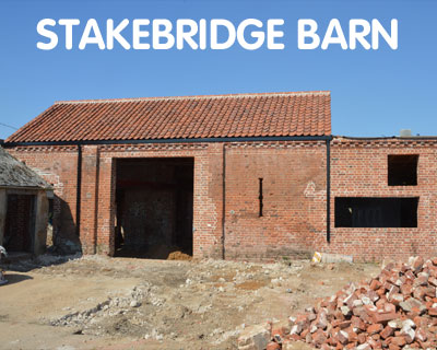 Stakebridge Barn, aiming for EnerPHit, Buxton with Lammas, NR10