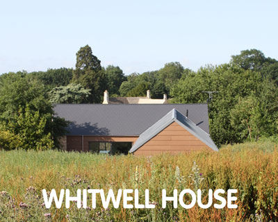 Whitwell House, Certified Passivhaus, Whitwell LE15
