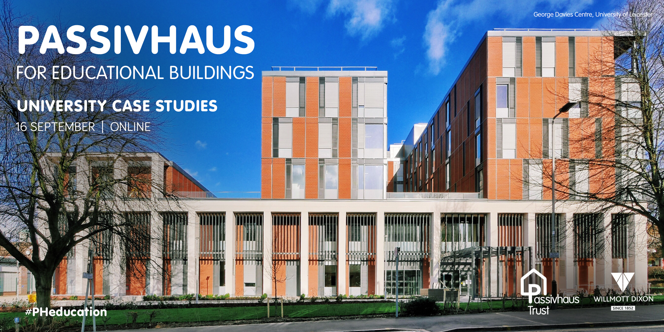 Passivhaus for Eduational Buildings: University case studies - 16 September 2020