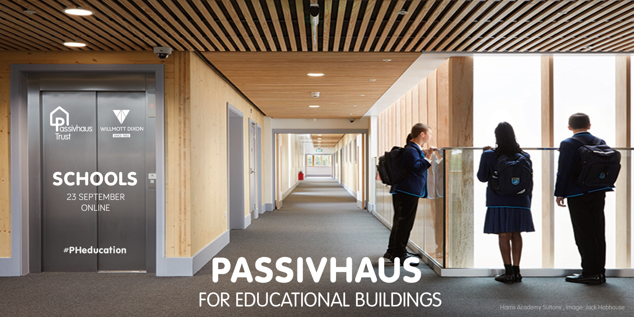 Passivhaus for Educational Buildings: Schools - 23 September 2020