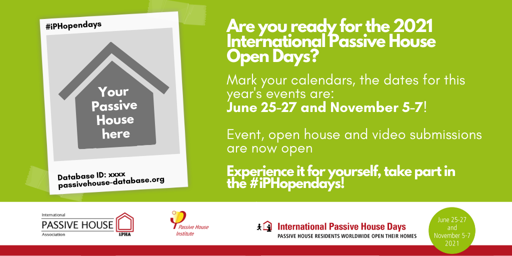 International Passivhaus Open Days 2021