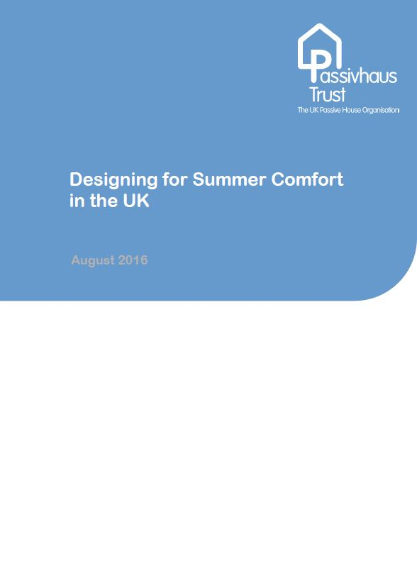 Designing for Summer Comfort in the UK