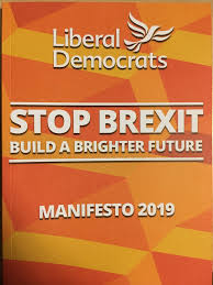 Liberal Democrats 2019 election manifesto