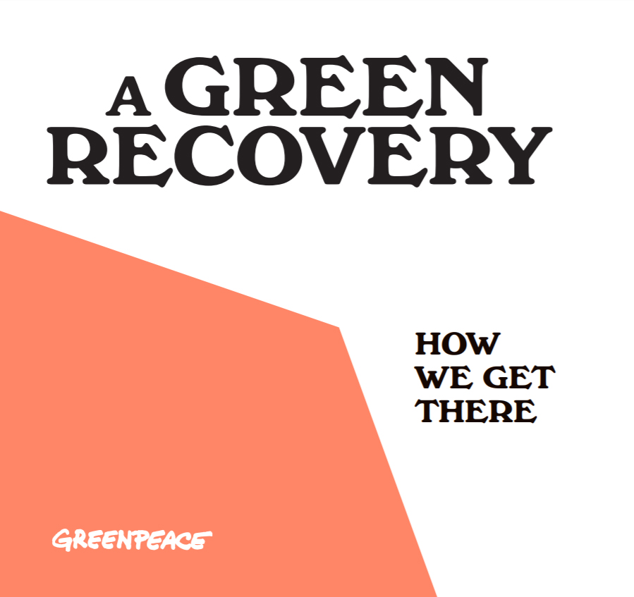 A Green Recovery: How We Get There