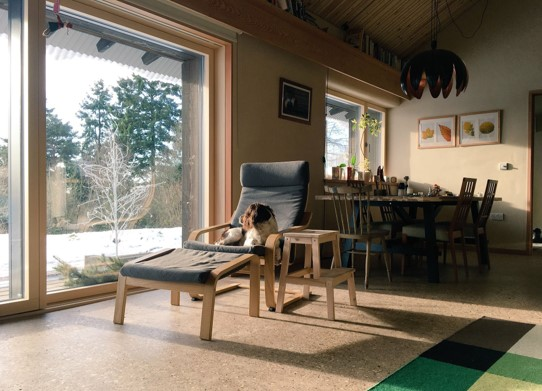 Old Holloway interior 2018 UK Passivhaus Awards Finalist Small Projects