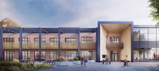 Thornhill Primary render 2 | ECD Architects