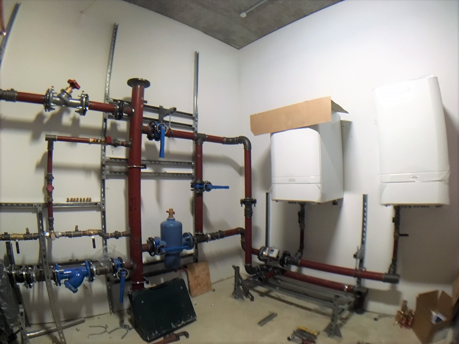 Sutton Secondary School - tiny boilers