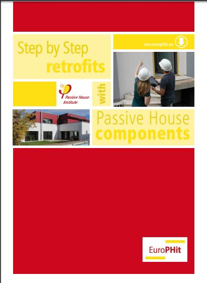 Step by Step retrofits with Passivhaus Components