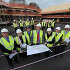 Construction progresses at first Welsh Passivhaus School