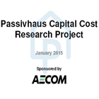 Research into the capital costs of Passivhaus new build housing